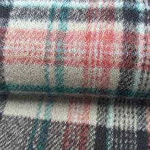 Double-faced woolen checkered fabric from  Hangzhou Tongjun Trading Co., Ltd.