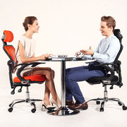 China Office task chair with ergonomic design and mesh back