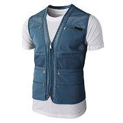 Work Utility Hunting Travels Sports Mesh Vest from  Fuzhou H&f Garment Co.,LTD