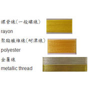 Taiwan Patch made of twill and hot seal on back/DIY patches for decorating garments or bags