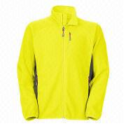 Men's fleece jackets from  Fuzhou H&f Garment Co.,LTD