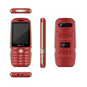 China Customized dual sim feature mobile phone, 1.77-inch or 2.4-inch quad band cell phone