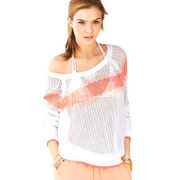 Women's round-neck knitted T-shirts from  Meimei Fashion Garment Co. Ltd