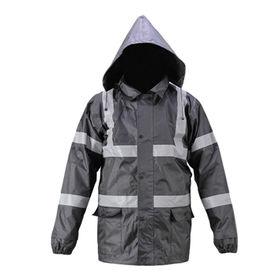 Hi-Vis Safety Padded Jacket from  Zhejiang Yinguang Reflecting Material Manufacturing Co. Ltd