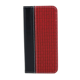 Genuine leather mix PU mobile phone wallet case from  Guangzhou Wan Er Electronic Limited