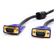 Male to Male VGA Cables with Nickel Plated