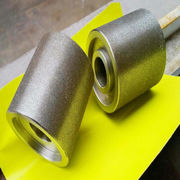 China Sharp and high efficiency electroplated diamond grinding wheel roller