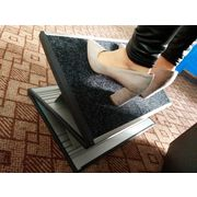 China Cheap Hot Sell Z-shaped Adjustable Portable Footrest