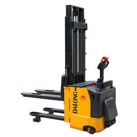 1500kg Double Pallet Power Stacker from  Wuxi Dalong Electric Machinery Co. Ltd