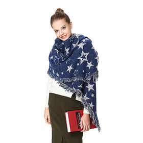 ladies winter woven scarf from  Hangzhou Willing Textile Co. Ltd