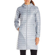 Women's long down jacket from  Fuzhou H&f Garment Co.,LTD