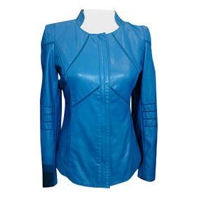 Women's PU Blazer from  Qingdao Classic Landy Garments Co. Ltd