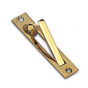 Pocket door finger pull from  Door & Window Hardware Co