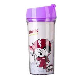Double wall plastic mugs from  Fuzhou King Gifts Co. Ltd