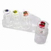 Acrylic fragrance/pepper/condiment canister/spice from  Dalco H.J. Co Ltd