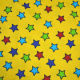 Lucky star printed cotton flannel fabric from China (mainland)