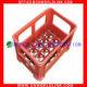 24 Wine Bottle Plastic Beer Crate Manufacturers