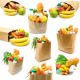 paper food bag waste bag Manufacturers