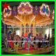 China Amusement Rides Luxurious Carousel Horse Manufacturers