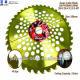 255 x 40 grass cutter blade 1.JIS management to control quality 2.Artwork design service 3.Differ Manufacturers