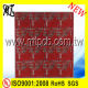 Fr4 2 Layer Red Mask Lead Free Hasl Manufacturers