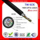 China 4 core multimode fiber optic cable GYTA local area excellence network systerm Manufacturers