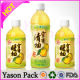 YASON bottle shrink vitamin water private label clear shrink cap beverage sleeve heat shrink slee Manufacturers