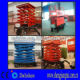 4 Tires Trailer Scissor Lift Table Manufacturers