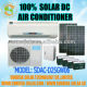 100% DC air conditioner Manufacturers