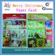 Merry Christmas!Colour printing christmas cards/3 Manufacturers