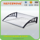 High quality clear plastic bracket awning roofing door cover window awning material shelter balco Manufacturers