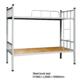 school dormitory metal bunk bed steel bed Manufacturers