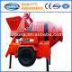 500L tow behind turbo concrete mixer truck Manufacturers