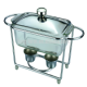 CD-015 hot glass chafing dish chafing dish gel fu Manufacturers