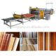 wood-pvc lamination/ pvc laminating machine on mdf machine/PUR lamination line machine/acrylic md Manufacturers