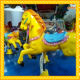 Music amusement equipment kiddie mini carousel Manufacturers