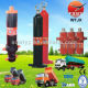 dump truck telescopic hydraulic cylinder / car lift hydraulic cylinder double acting / truck hydr Manufacturers