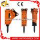 Hi-tech 4-7 Ton Hydraulic Concrete Hammer Hotest Manufacturers