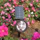 Plastic solar garden light Wattage:4*0.5w size:29X9X30 cm metarial Manufacturers
