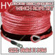 Hw0158 9mm X 30m Red Color Boat Trailer Winch Rope Manufacturers