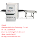 WD-6550 X-ray machine x-ray baggage scanner Manufacturers