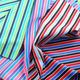 Taiwan Feeder Striped Jersey Fabric, Made of 92% Poly + 8% Spandex, Wicking and Antibacterial from Lee Yaw Textile Co Ltd